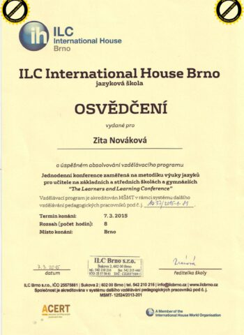 Certifikát_ILC_jaro15