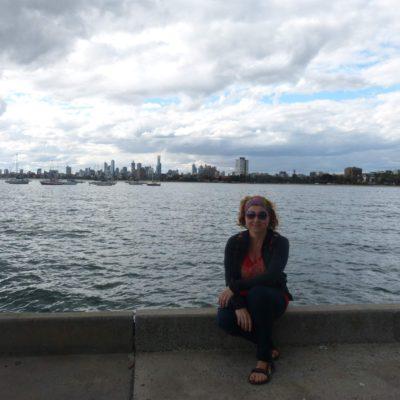 Zita Nováková v Melbourne v Austrálii