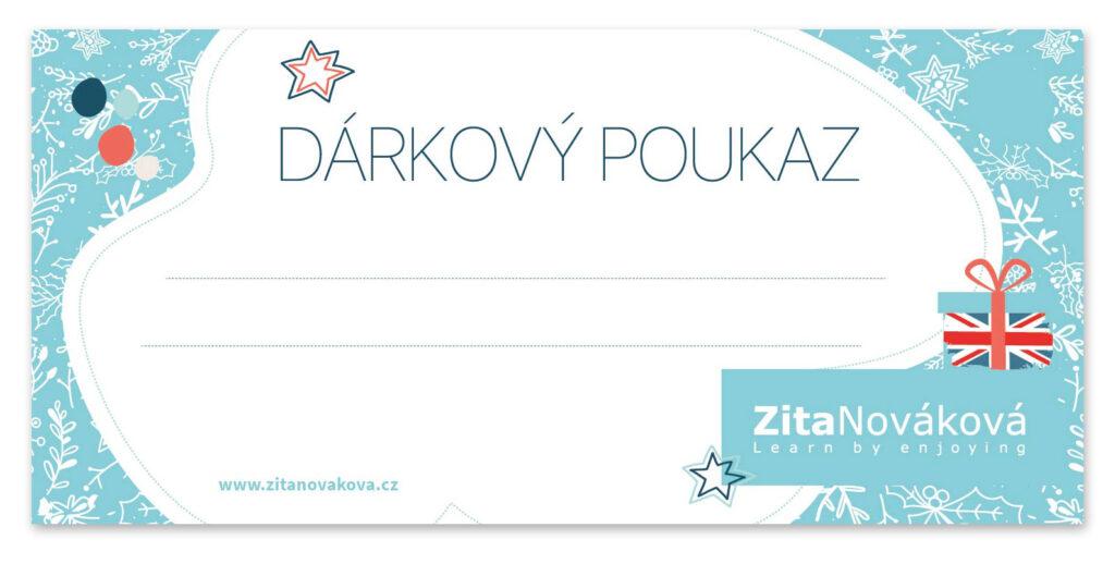Dárkový poukaz Zita Nováková